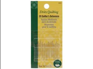 Dritz Quilting Quilter's Betweens Needles-Size 10 20/Pkg