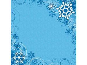 """Easy Peasy Page Layout With 3-D Design 12""""X12""""-Snow"""