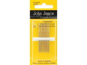 Gold Tapestry Hand Needles-Size 26 3/Pkg
