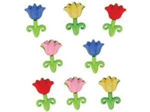 Dress It Up Embellishments-Easter Tulips