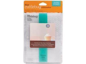 """Cuttlebug 5""""X7"""" Embossing Folder/Border Set-Basic Shapes"""
