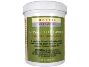 Mosaic Tile Grout 8 Ounces-White
