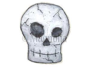 So Spooky Cling Stamp-Skull