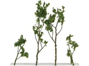 "Wire Foliage Trees 1.5"" To 3"" 24/Pkg-Light Green"