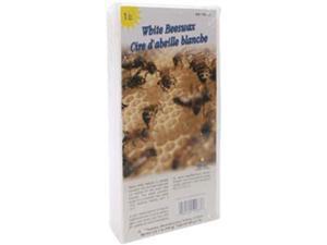 Beeswax 1 Pound Block-White