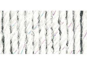 Wool-Ease Yarn -White Glitter