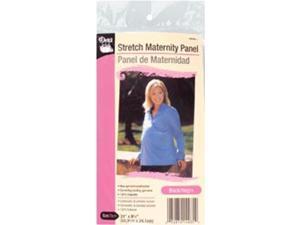 "Stretch Maternity Panel 9-1/2""X24""-Black"