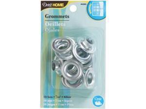 "Grommets 7/16"" 10/Pkg-Silver"