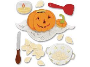 Jolee's Boutique Dimensional Stickers-Pumpkin Carving
