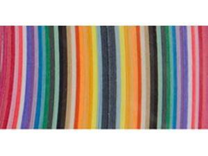 "Quilling Paper .625"" 100/Pkg-25 Color Assortment"