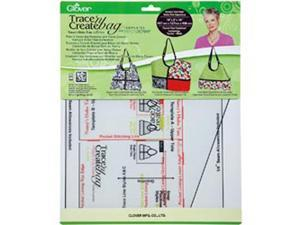 Trace 'n Create Bag Templates With Nancy Zieman-Nancy's Hobo Tote Collection