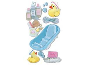 Jolee's Boutique Le Grande Dimensional Sticker-Bathtime