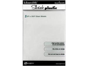 "Shrink Plastic Sheets 8""X10"" 5/Pkg-"