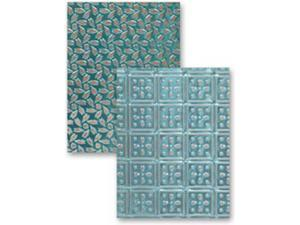M-Bossabilities Reversible A4 Embossing Folder-Patchwork