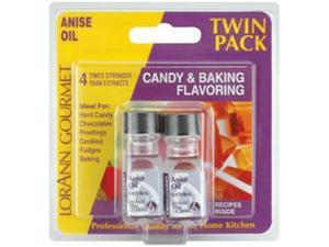 Candy & Baking Flavoring .125oz 2/Pkg-Anise Oil