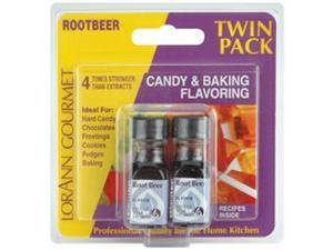 Candy & Baking Flavoring .125oz 2/Pkg-Root Beer
