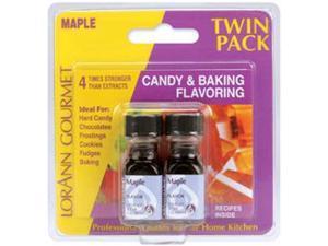 Candy & Baking Flavoring .125oz 2/Pkg-Maple