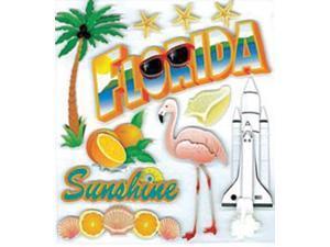 Jolee's Boutique Dimensional Destination Stickers-Florida