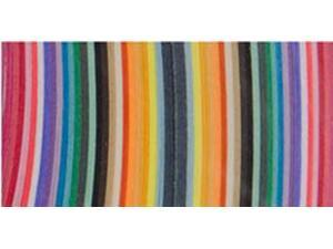 "Quilling Paper .375"" 100/Pkg-25 Color Assortment"