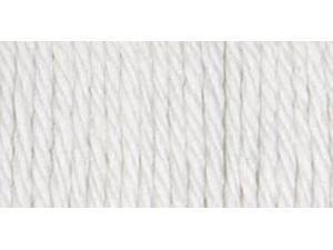 Sugar'n Cream Big Ball Naturals Yarn Solids-White