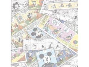 """Disney Paper 12""""X12""""-Comic Strip"""