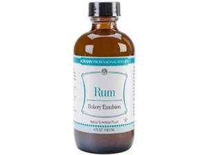 Artificial Flavor Bakery Emulsions 4 Ounces-Rum