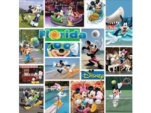 "Disney Paper 12""X12""-Mickey Florida"