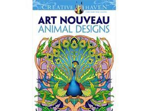 Dover Publications-Creative Haven Art Nouveau Animal Design
