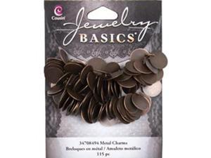 Jewelry Basics Coin Charms 115/Pkg-Copper