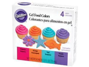 Gel Food Coloring Set 4/Pkg-Neon