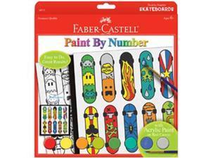 Paint By Number Kit-Pop Art Skateboard