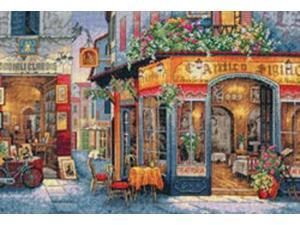Gold Collection European Bistro Counted Cross Stitch Kit-16 X11