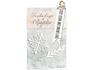Magnolia A Christmas Story Dies-Cozy Fern And Snowflake