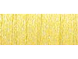 Kreinik Very Fine Metallic Braid #4 11 Meters (12 Yards)-Fluorescent Lemon-Lime