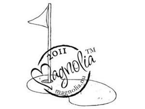 The Winner Takes It All Cling Stamp-Golf Flag