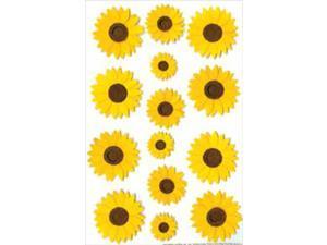 Martha Stewart Stickers-Sunflower