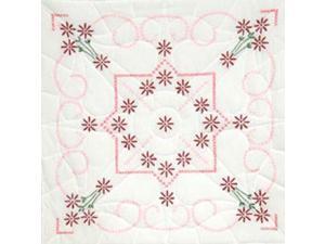 "Stamped Quilt Blocks 18""X18"" 6/Pkg-Lazy Daisy"