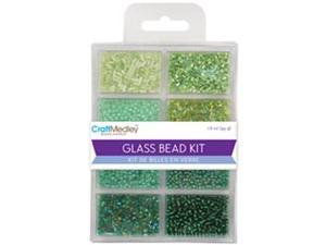 Glass Bead Kit 45grams/Pkg-Going Green
