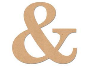 "MDF Classic Font Wood Letters & Numbers 9.5""-Symbol &"