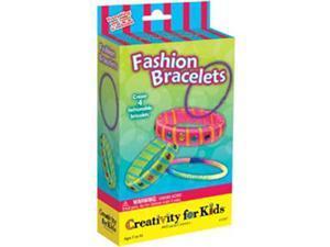 Creativity For Kids Activity Kits-Fashion Bracelets (makes 4)