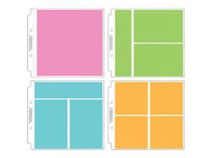 "Doodlebug Protector Assortment 8""X8""-12 Pieces 3 Of 4 Styles"