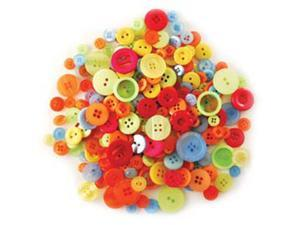 Fashion Buttons In Purse 85 Grams-Tropical