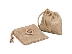 """Burlap Drawstring Bag 8""""X8""""-"""