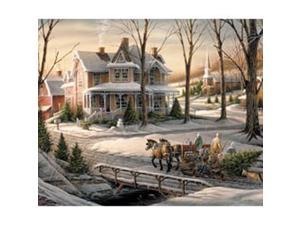 "Jigsaw Puzzle Terry Redlin 1000 Pieces 24""X30""-Homeward Bound"