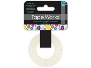 "Tape Works Tape .625""X50ft-Multi Color Floral"