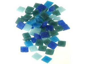 "3/8"" Mini Mosaic Mix 1/2 Pound-Seascape"