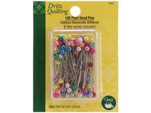 """Dritz Quilting Pearl Head Pins-1-1/2"""" 100/Pkg"""