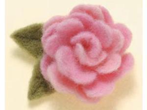 Felting Needle Applique Mold-Rose
