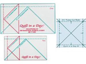 Quilt In A Day Ruler Set-3 Pieces