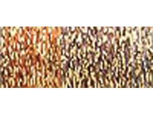 Kreinik Ombre Metallic Thread 8 Ply 15 Meters (17 Yards)-Misty Gold